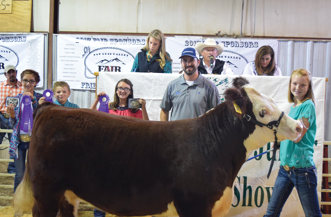 Denver Police Auction >> Alamosa News | SLV Fair Livestock Auction